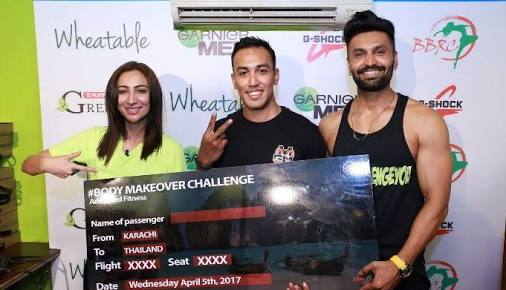 Body Makeover Challenge by Tapal and BBRC setting fitness goals